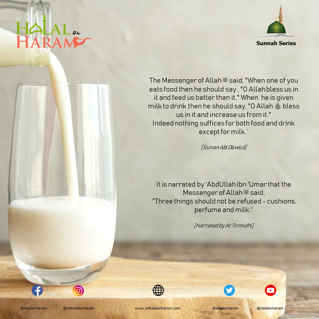 The Sunnah of Milk